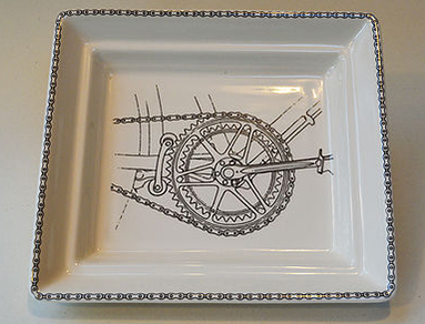 chainset hall plate